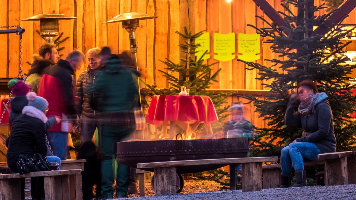Weihnachtsmarkt in Arnsberg-Wettmarsen - Biohof Nagel